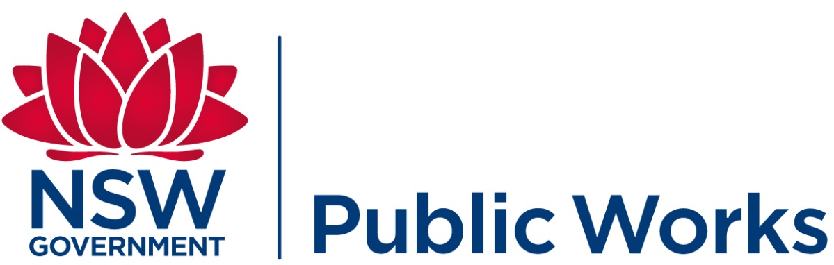 NSW Public Works logo