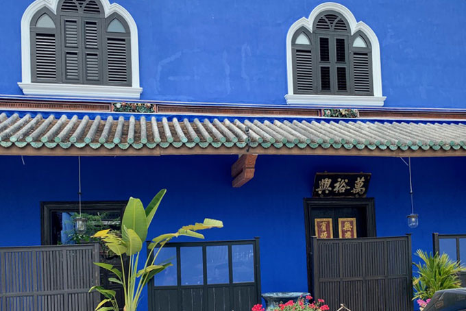 Blue mansion penang