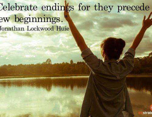 Celebrating endings